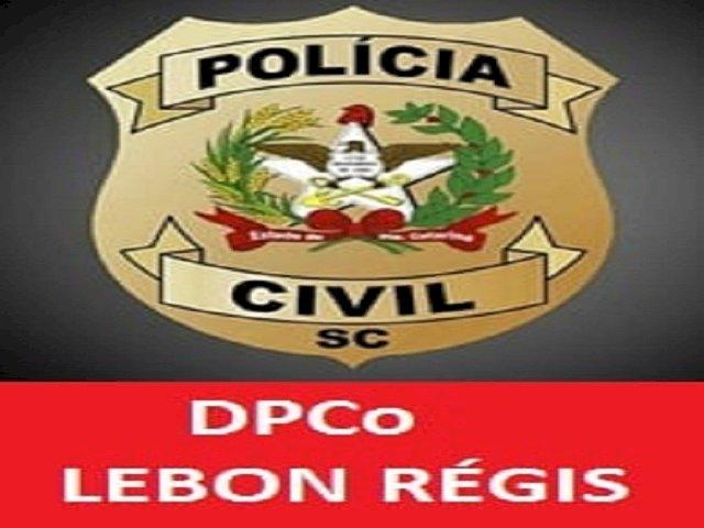 POLÍCIA CIVIL DE LEBON RÉGIS PRENDE HOMEM DENTRO DO FÓRUM