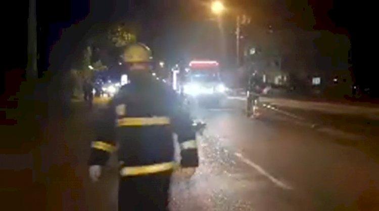 HOMEM MORRE ATROPELADO NA HONORINO MORO EM CAÇADOR