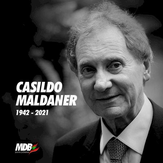 MORREU ESTA NOITE O EX GOVERNADOR E SENADOR CASSILDO MALDANER