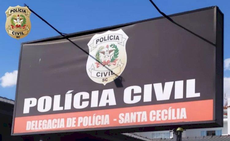 POLÍCIA CIVIL DE SANTA CECÍLIA PRENDE HOMEM ACUSADO DE ESTUPRO DE VULNERÁVEL